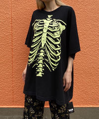 【Used】Bone print Tee / 骨プリントTシャツ