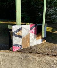"""【Selected item】Box bag""""mosaic tile"""" / ボックスバッグ / mg451."""