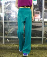 【Vintage】1970's Color straight pants / カラーストレートパンツ
