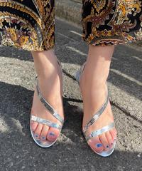 【Used】Mirror heel sandals  / ミラーヒールサンダル