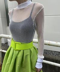 【Used】Mesh knitting  tops / メッシュ編みニットトップス