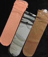 【Selected item】Tulle glitter socks /  ラメチュールソックス mg-107