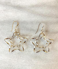 【Selected item 】Silver 925 star design pierce /スターデザインピアス