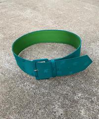 【Used】Leaf pattern belt / リーフ柄ベルト