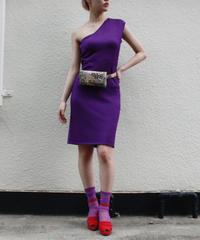 【used】Ralph Lauren one shourder dress / ワンショルダードレス