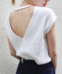 【Used】Thermal white tops / サーマルトップス