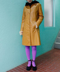 【Used】Leather long jaket / レザーロングジャケット
