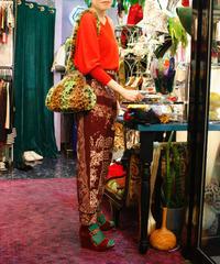 【Vintage】Leopard fur bag / ヒョウ柄ファーバッグ