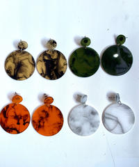 【selected Item】Stone design pierce / 石柄ピアス / mg-47