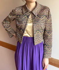 【Vintage】1970's glitter jacket / 1970年代グリッタージャケット