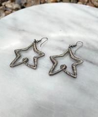 【Used】Star earrings / 星ピアス