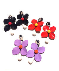 【Selected item】Flower  pierce / お花ピアス