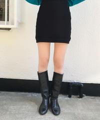 【Used】Basic long boots / ベーシックロングブーツ