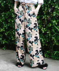 【migration】Flower design resort pants / 花柄リゾートパンツ / mg-315