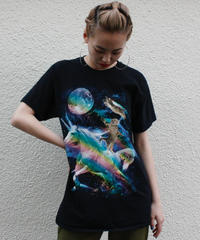 【Used】Space Cat T shirt / 宇宙猫Tシャツ
