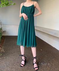 【Used】Chiffon  gather dress / シフォンギャザードレス