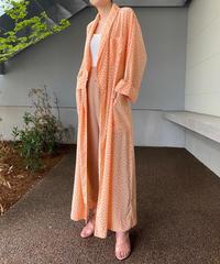 【Vintage】Dot print gown / ドット柄ガウン