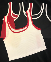 【migration】Short length tank top  / ショート丈タンクトップス / mg225