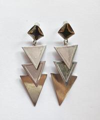 【Selected item】Triangle pierce/トライアングルピアス