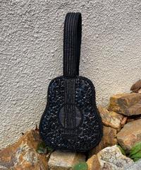 【Used】Guitar motif beads hand bag / ギターモチーフビーズバッグ