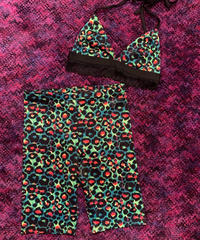 【Selected item】Neon leopard set up / ネオンヒョウ柄セットアップ