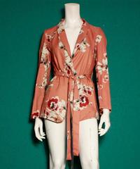 【migration】Flower jacket / Pink / 花柄ジャケット