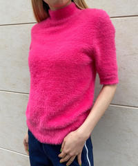 "【Used】Shaggy tops ""Vivid pink""/ シャギートップス/AUT-10"