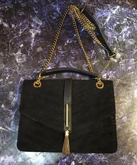 【Used】Suede shoulder bag/スエードショルダーバッグ
