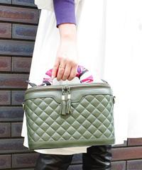 【Used】Quilting box bag  / キルティングボックスバッグ