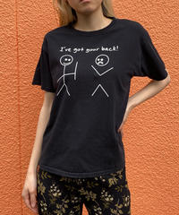 """【Used】Print Tee"""" A"""" / プリントTシャツ"""
