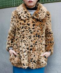 【Used】Leopard fur coat / 豹柄ファーコート