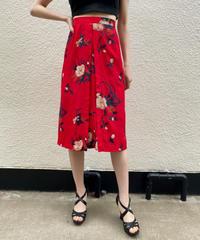【Vintage】1970'Vintage Floral skirt / 1970年代花柄スカート