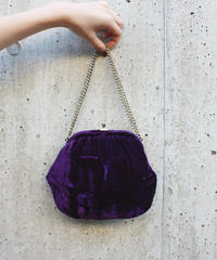 【Vintage】Velour chain bag / ベロアバッグ