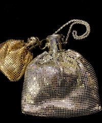 【Used】 Silver & gold metal mesh bag / メタルメッシュバッグ