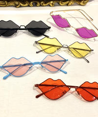 【Selected Item】Lip design sunglasses / リップ型サングラス / mg-201