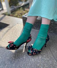 【Used】Open toe heel pumps / オープントゥヒールパンプス