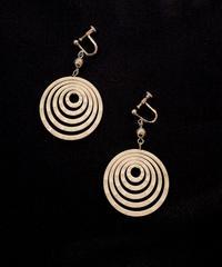 【Used】Circle earring / ぐるぐるイヤリング