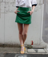 【migration】Sheep skin leather skirt / mg-165 / 羊革ミニスカート