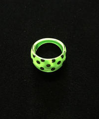 【Used】Acryl dot ring / アクリル水玉リング