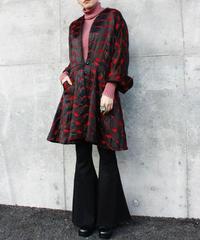 【Vintage】1950's Satin quilting coat  / サテンキルティングコート