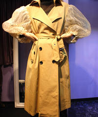 【migration】 Dot tulle  trench coat /ドットチュール トレンチコート