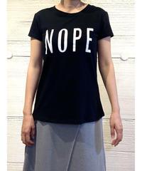 NOPE tシャツ【ブラック】