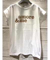 amore & me Tシャツ【ベージュ】
