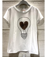 LOVE light bulb Tシャツ