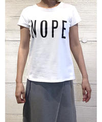 NOPE tシャツ【ホワイト】