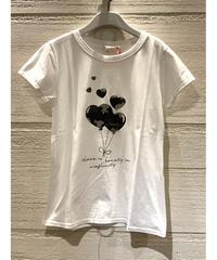 カモフラージュハートTシャツ【グレー】
