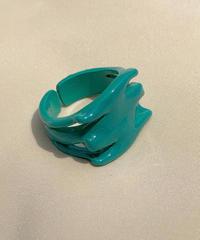 ポルキュースリング/Turquoise Green