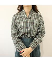 【FILA】Check shirt