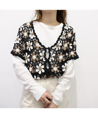 flower embroidery tops