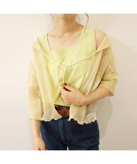 see-through silky shirt